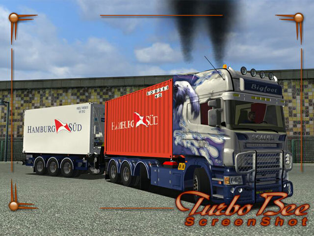 Design Scania R620 Scania R620 Tandem Bigfoot Airbrush Scania R620